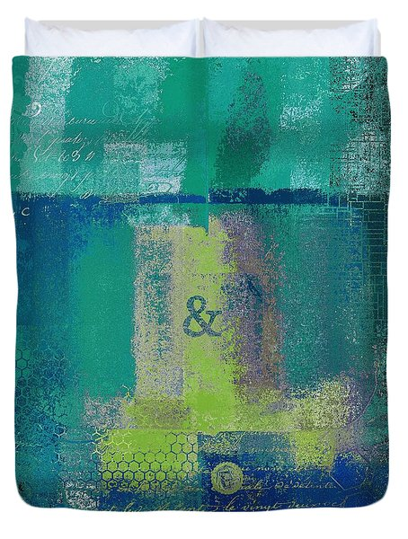 Duvet Cover featuring the digital art Classico - S03c04 by Variance Collections