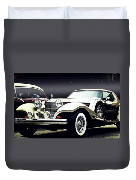 Duvet Cover featuring the photograph Classy... by Al Fritz