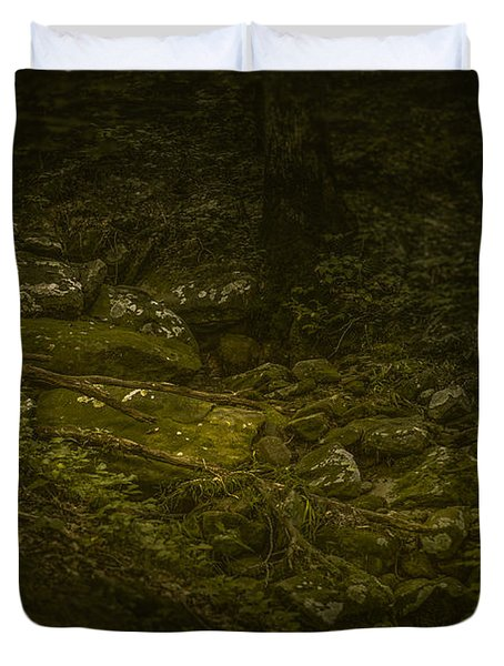 Claws Of Time Duvet Cover