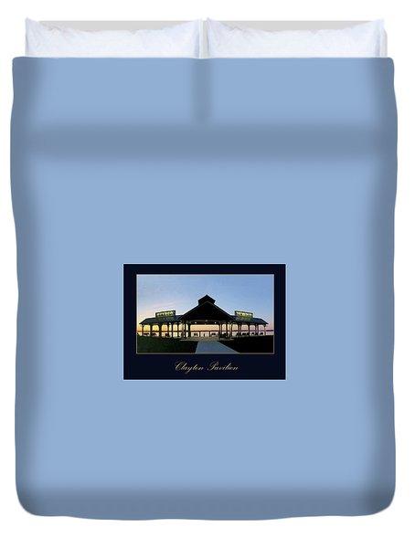 Clayton Pavilion Duvet Cover