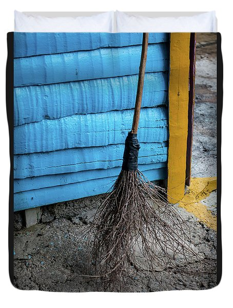 Clean Sweep Duvet Cover
