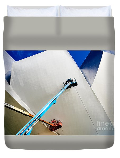 Duvet Cover featuring the photograph Cleanliness by Dean Harte