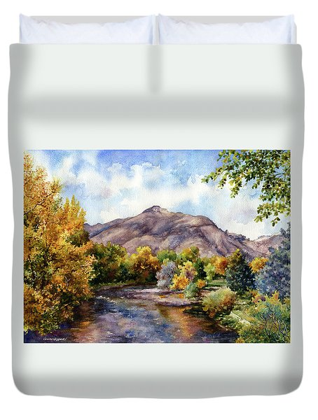 Clear Creek Duvet Cover