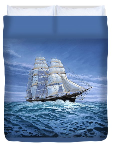Clear Skies Ahead Duvet Cover