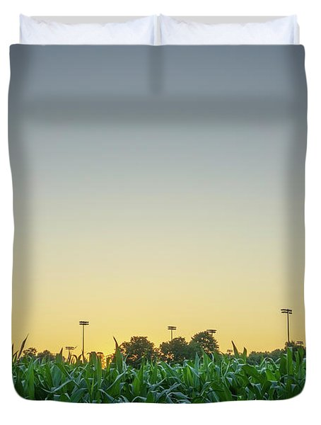 Clear Skies Sunset Duvet Cover