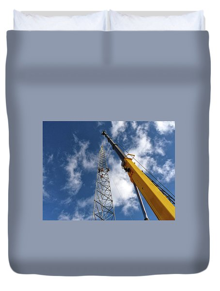 Duvet Cover featuring the photograph Clear Spring by Robert Geary