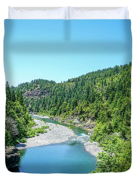 Clear Waters Duvet Cover by Ric Schafer