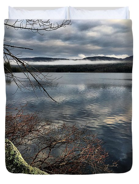 Clearing Sky Duvet Cover