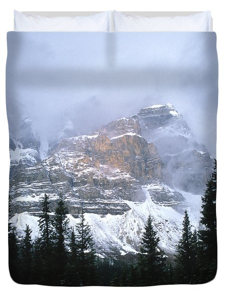 Clearing Storm Duvet Cover by Sandra Bronstein