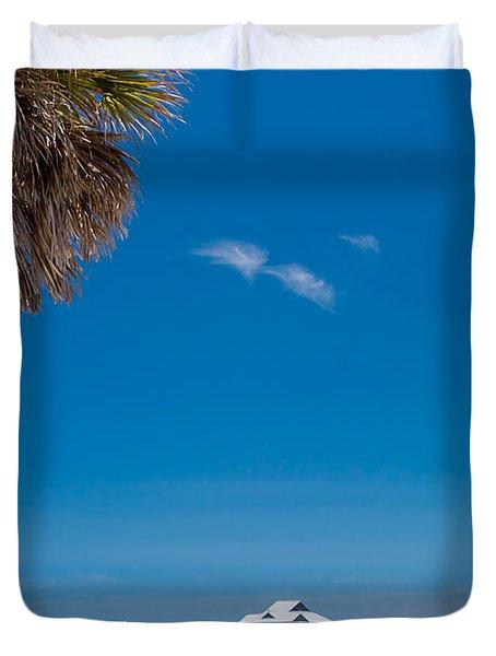 Clearwater Beach Duvet Cover by Adam Romanowicz