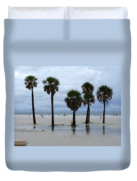 Clearwater Beach Duvet Cover