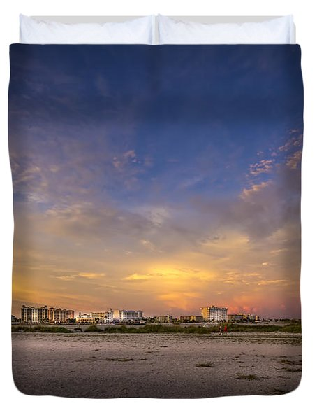 Clearwater Intercoastal Duvet Cover