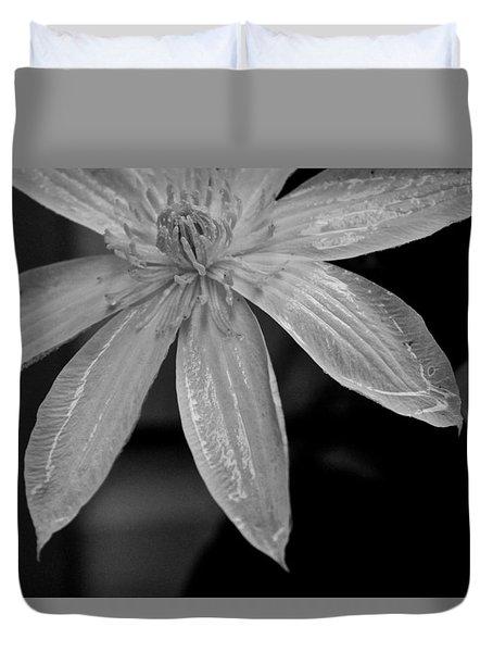 Clematis 1 Duvet Cover