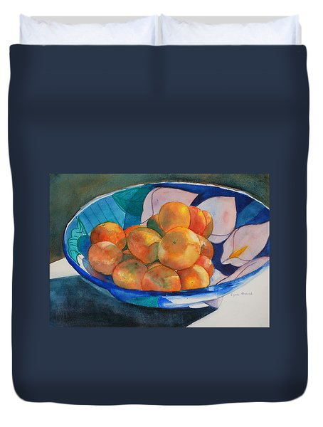 Clementines Duvet Cover