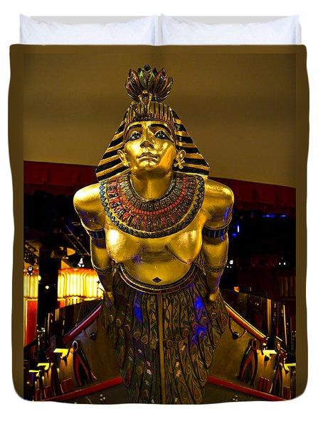 Cleopatra's Barge Duvet Cover