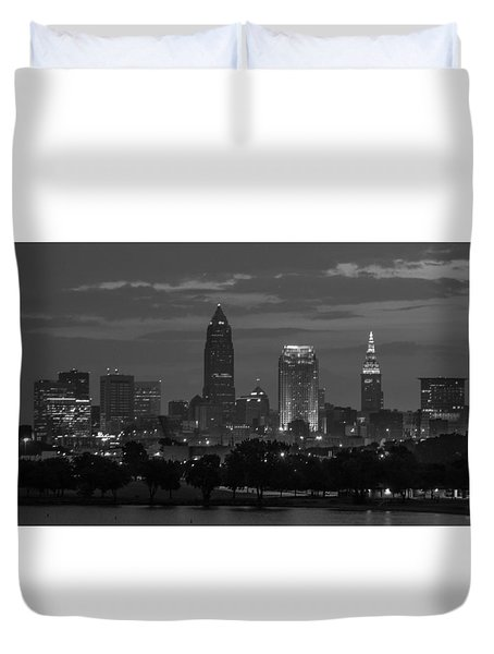 Cleveland After Dark Duvet Cover