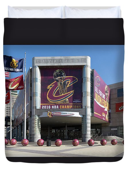 Cleveland Cavaliers The Q Duvet Cover