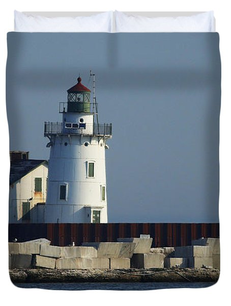 Cleveland Lighthouse Duvet Cover