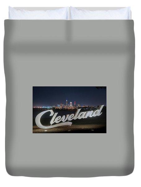 Cleveland Pride Duvet Cover