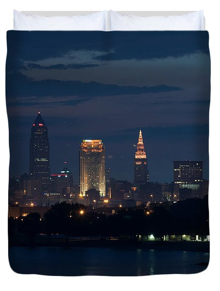 Cleveland Reflections Duvet Cover