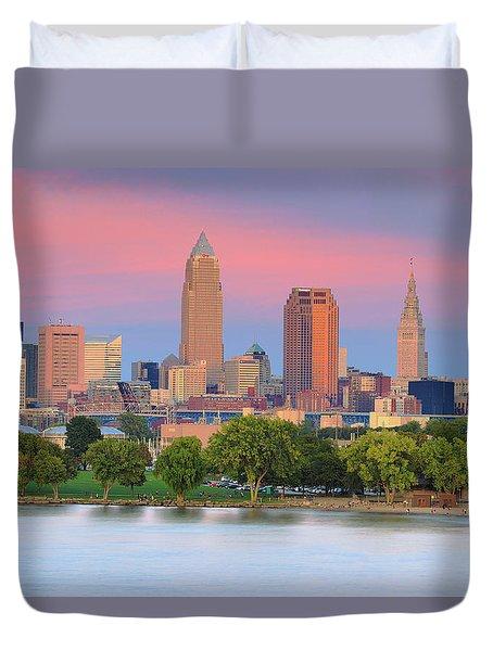 Cleveland Skyline 6 Duvet Cover