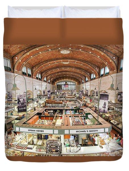 Cleveland Westside Market  Duvet Cover