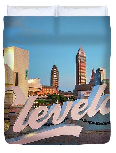 Cleveland's North Coast Duvet Cover