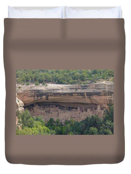 Cliff Palace Mesa Verde Duvet Cover