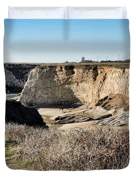 Cliff Top Duvet Cover