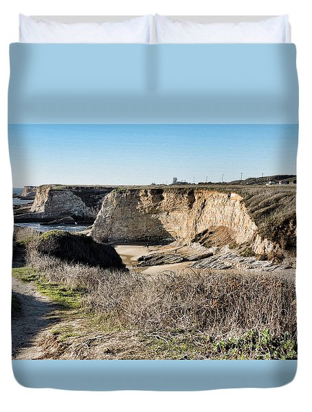 Cliff Top Duvet Cover