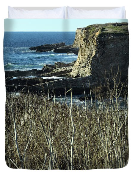 Cliff View Duvet Cover