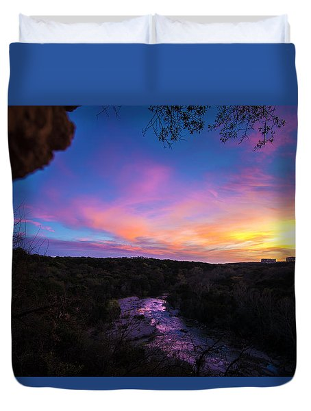 Cliff View Duvet Cover