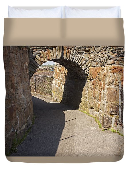 Cliff Walk Duvet Cover