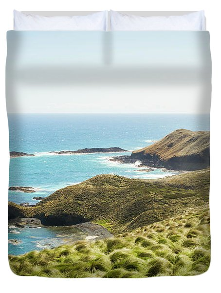Cliffs And Capes Duvet Cover