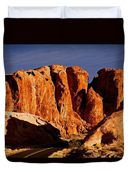 Cliffs In Valley Of Fire State Park, Nv Duvet Cover