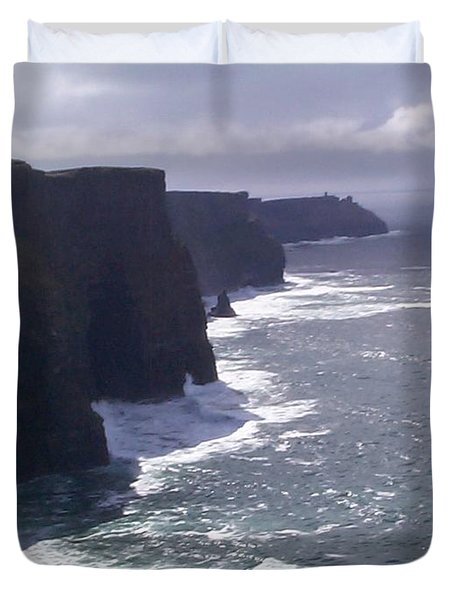 Cliffs Of Moher Duvet Cover