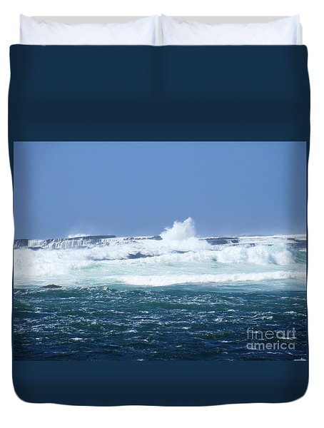 Cliffs Of The Aran Islands 2 Duvet Cover
