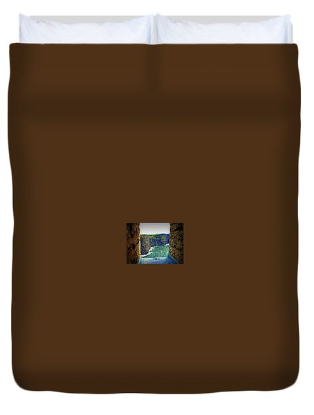 Cliffs Personalized Duvet Cover