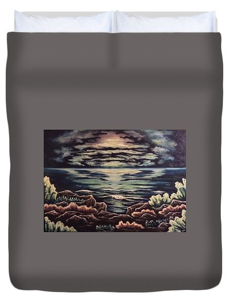 Cliffside Duvet Cover