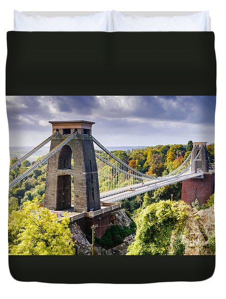 Clifton Suspension Bridge Duvet Cover