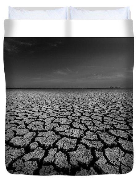 Climate Change Duvet Cover