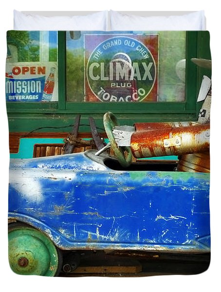 Climax Duvet Cover by Skip Hunt