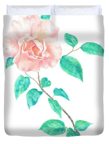 Climbing Rose Duvet Cover