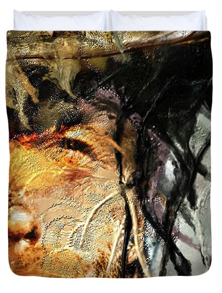 Clint Eastwood Duvet Cover by Michael Cleere