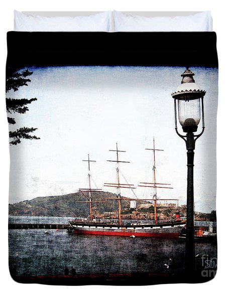 Clipper Ship Duvet Cover