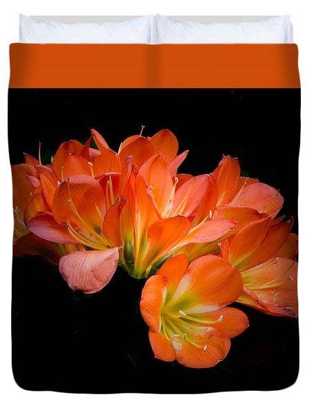 Clivia Flora Duvet Cover