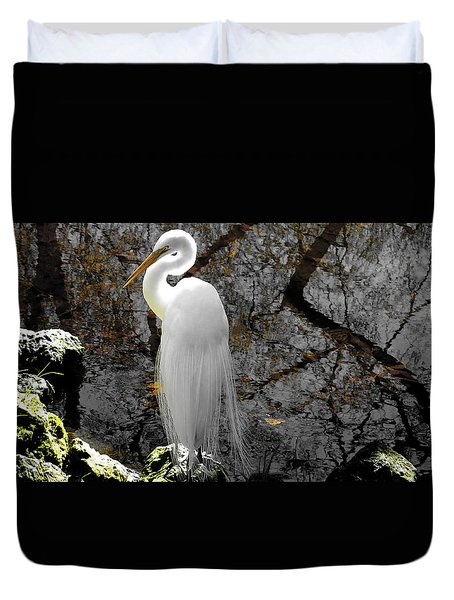 Cloaked Duvet Cover