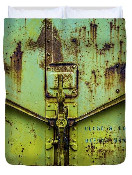 Close And Lock Duvet Cover