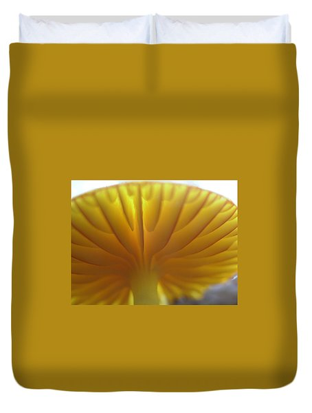 Duvet Cover featuring the painting Close Examination by Martha Ayotte