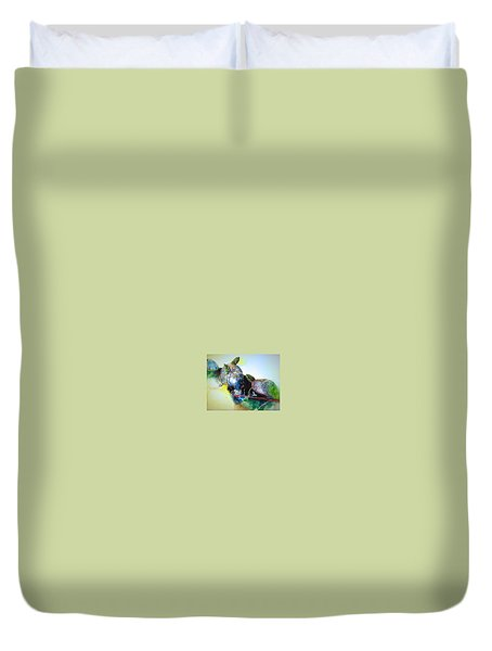 Close Friends Duvet Cover